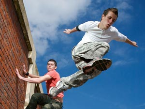 Parkour Magazine Cover