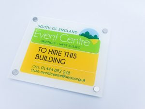 Event Centre Sign