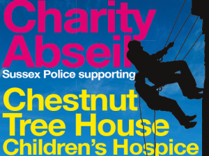 Abseil Event Promo Flyer